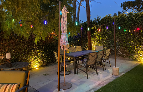Backyard Cafe Lights